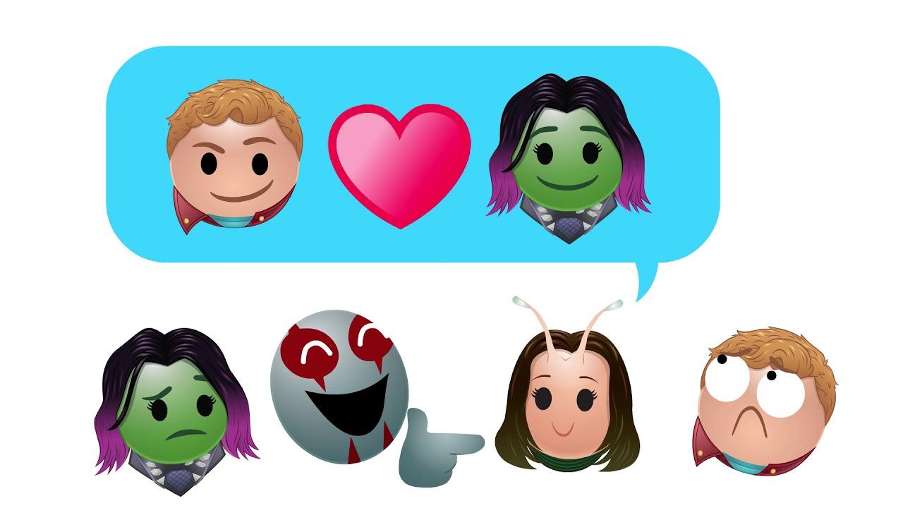 46669 «Стражи Галактики. Часть 2» в пересказе Emoji
