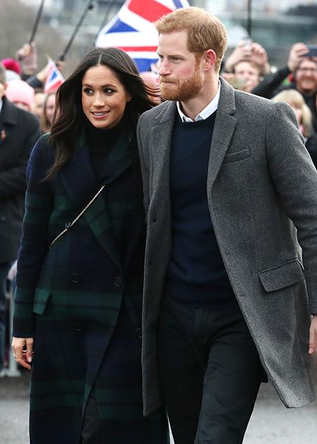 Принц Гарри и Меган Маркл получили конверт с белым порошком