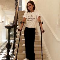 46882 Виктория Бекхэм сломала ногу