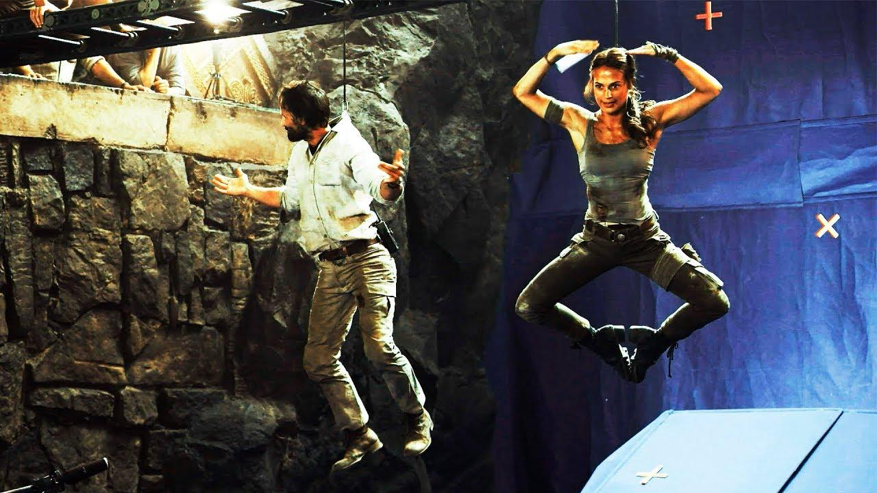Tomb Raider: Лара Крофт — Съёмки фильма (2018)
