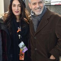 47407 Амаль и Джордж Клуни на марше против огнестрельного оружия