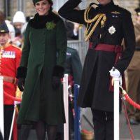 47276 Кейт Миддлтон и принц Уильям появились на параде в честь Дня святого Патрика в Лондоне