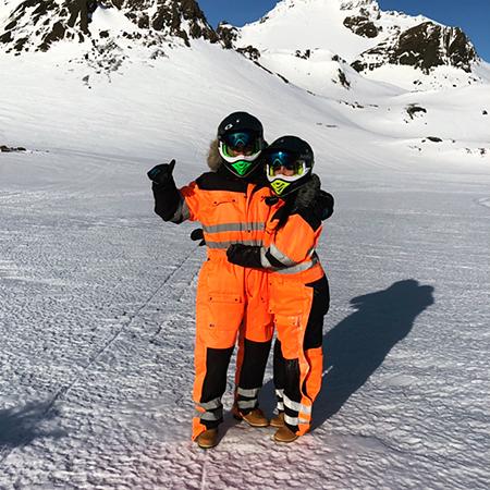 Криштиану Роналду и Джорджина Родригес проводят романтические каникулы в горах