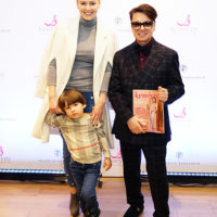 47020 Мария Кожевникова с сыном и другие звезды с детьми на показе новой коллекции Валентина Юдашкина