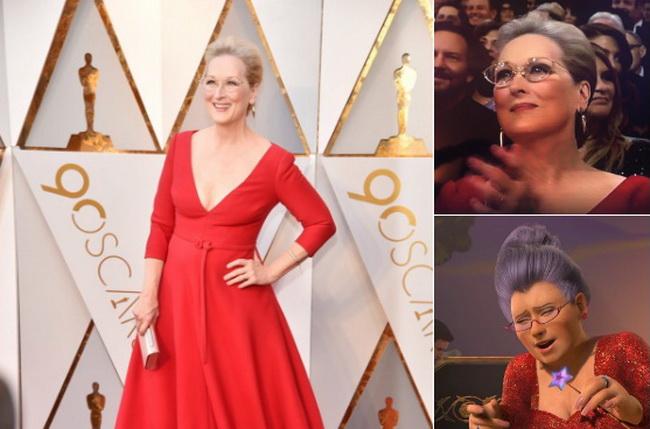 Мэрил Стрип не получила «Оскар», но получила Интернет-мем