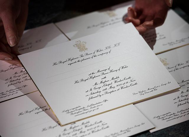 Принц Гарри и Меган Маркл разослали 600 приглашений на свадьбу
