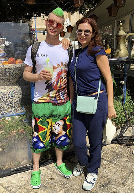 Старший сын Эвелины Бледанс и еще 5 неформалов – детей российских звезд