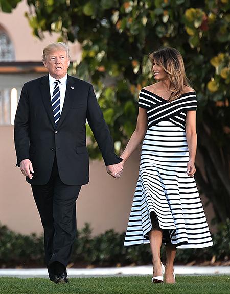Что происходит в отношениях Дональда и Мелании Трамп: признание в любви и прогулка за руки