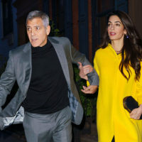 47669 Любовь в городе: Амаль и Джордж Клуни на свидании в Нью-Йорке