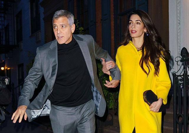 Любовь в городе: Амаль и Джордж Клуни на свидании в Нью-Йорке