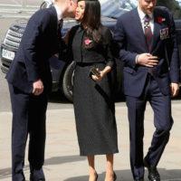 48018 Принцы Уильям, Гарри и Меган Маркл прибыли на службу в Вестминстерское аббатство