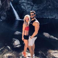 47812 Страстные танцы: Бритни Спирс тренируется вместе с бойфрендом