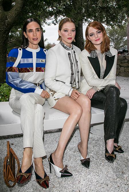 Эмма Стоун, Леа Сейду и другие гости круизного показа Louis Vuitton