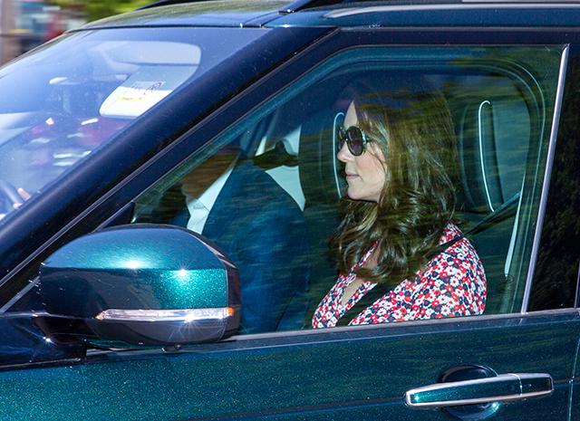 Кейт Миддлтон впервые замечена в Лондоне после рождения принца Луи