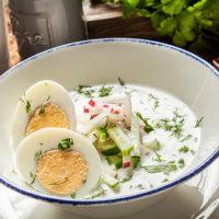48588 Летнее меню: 3 рецепта холодных супов от московских шеф-поваров
