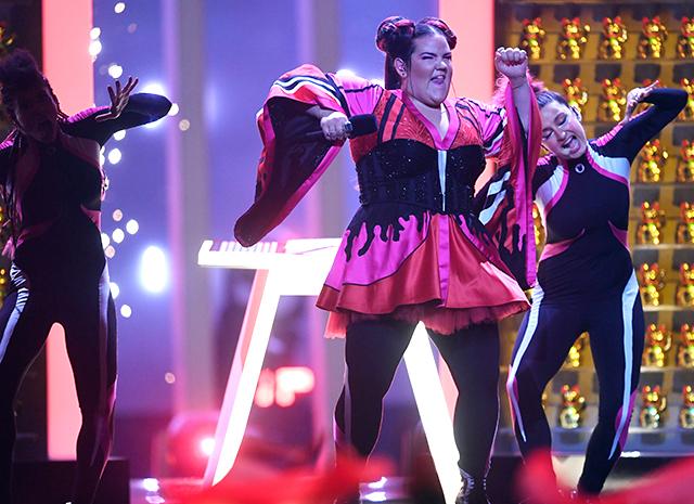 """Нетта Барзилай из Израиля победила на """"Евровидении-2018"""""""