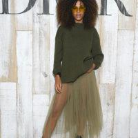 48674 Тина Кунаки, Пэрис Джексон и другие звезды на круизном показе Dior