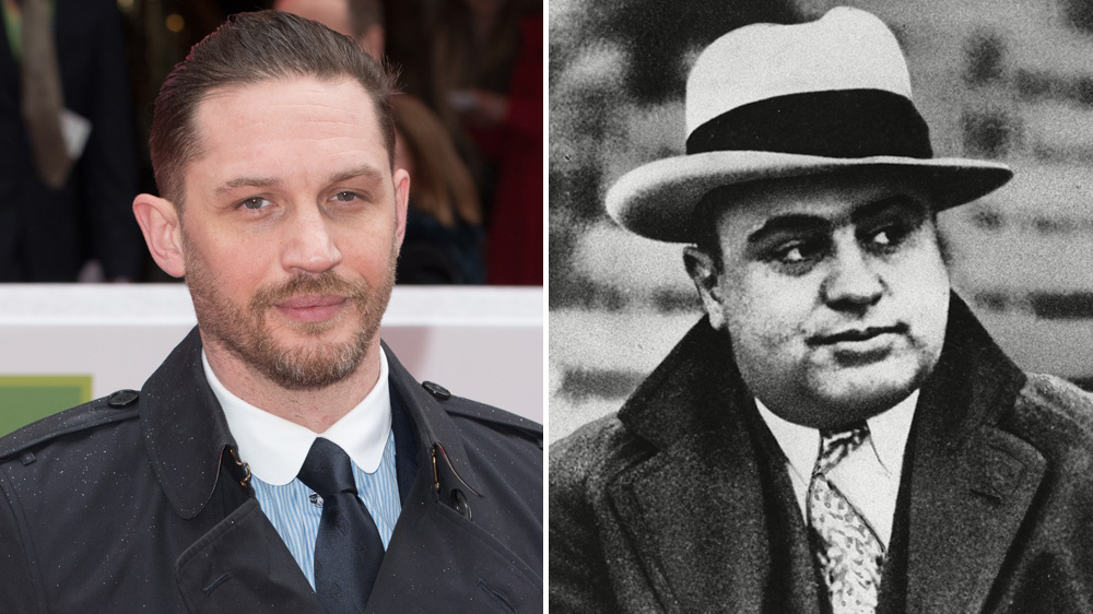 Тома Харди не узнать в образе Аль Капоне
