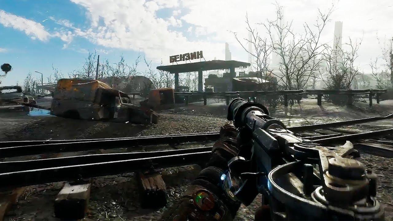 Метро: Исход / Metro: Exodus — Русский трейлер игры #3 (2018)
