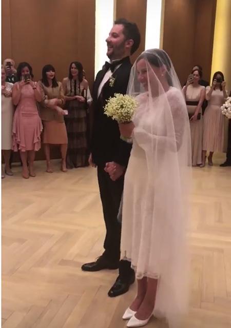 Оксана Лаврентьева и Александр Цыпкин поженились: фото