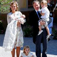 48865 Шведская принцесса Мадлен крестила младшую дочь: фото с церемонии