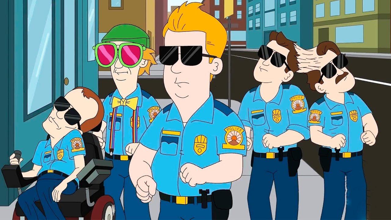 Полиция Парадайз (1 сезон) — Русский трейлер (Субтитры, 2018)