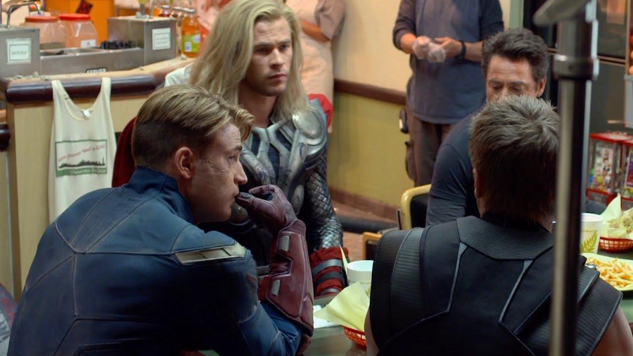 Мстители: Война бесконечности — Круглый стол: Шаурма