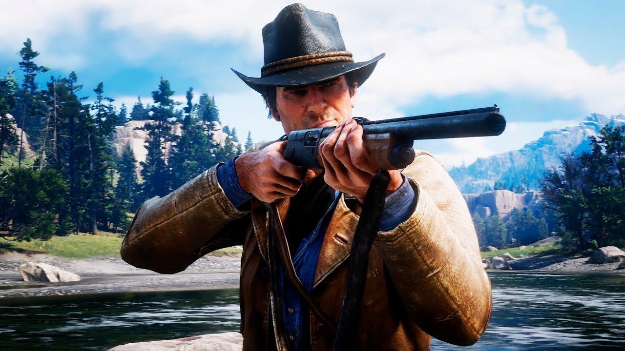 Red Dead Redemption 2 — Русский геймплейный трейлер игры (4K, 2018)