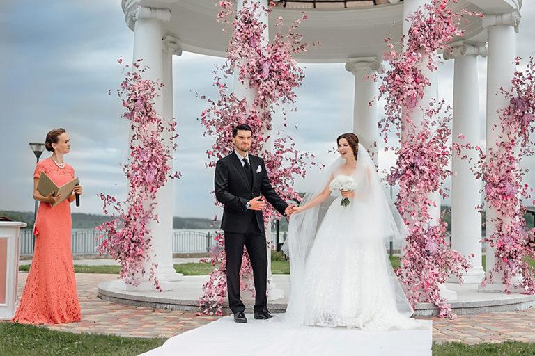 49697 Актеры Алеса Качер и Вахтанг Беридзе поженились: фоторепортаж со свадьбы