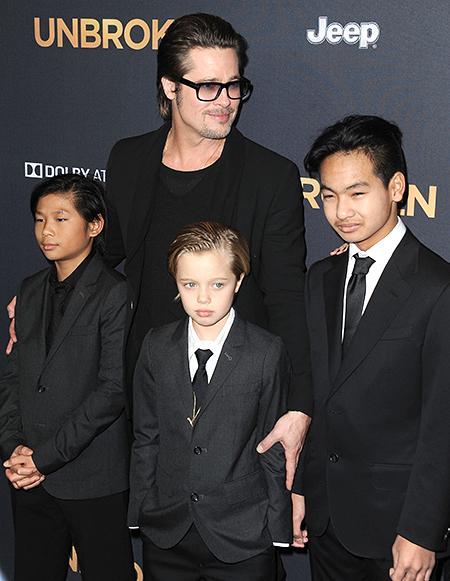 Брэд Питт через суд отвоевал у Анджелины Джоли право чаще видеться с детьми