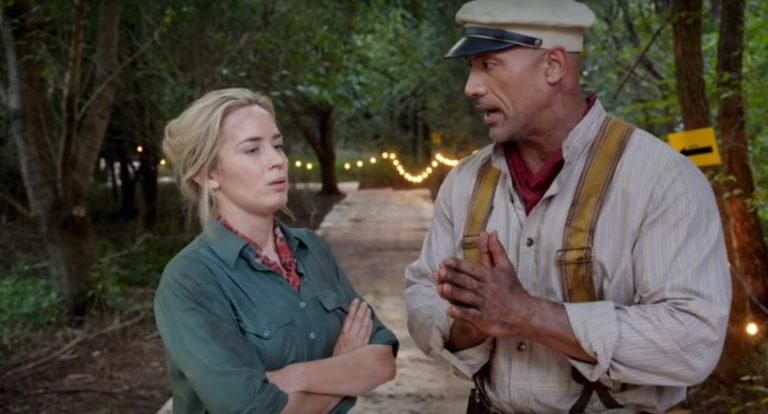 49619 Дуэйн Джонсон и Эмили Блант зазывают в «Круиз по джунглям»