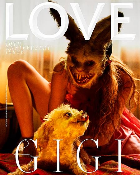 49643 Новая обложка Джиджи Хадид возмутила защитников прав животных
