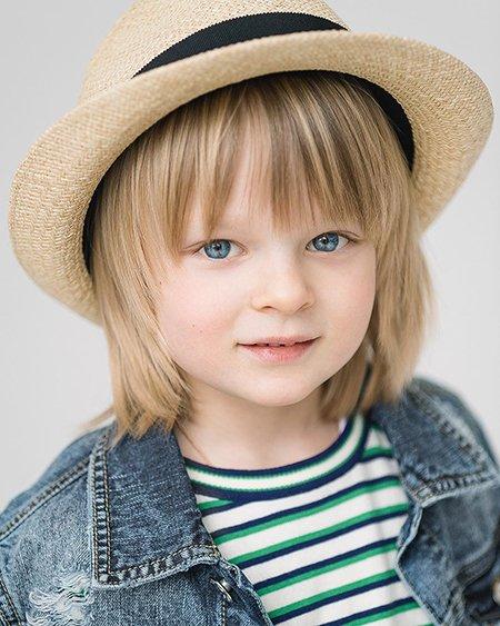 Саша Плющенко вошел в список самых красивых детей мира
