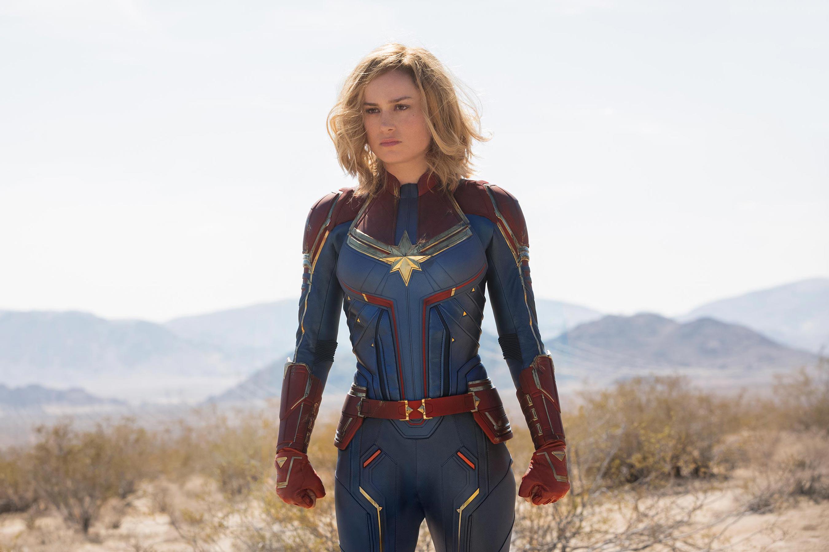 Трейлер «Капитана Марвел» выйдет на следующей неделе
