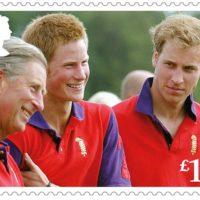 51411 К 70-летию принца Чарльза: обнародованы новые почтовые марки с портретом именинника