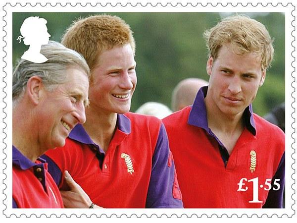 К 70-летию принца Чарльза: обнародованы новые почтовые марки с портретом именинника