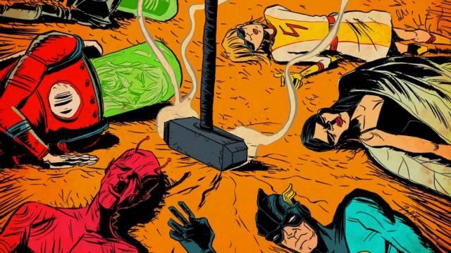 Legendary намерена экранизировать комикс «Черный молот»