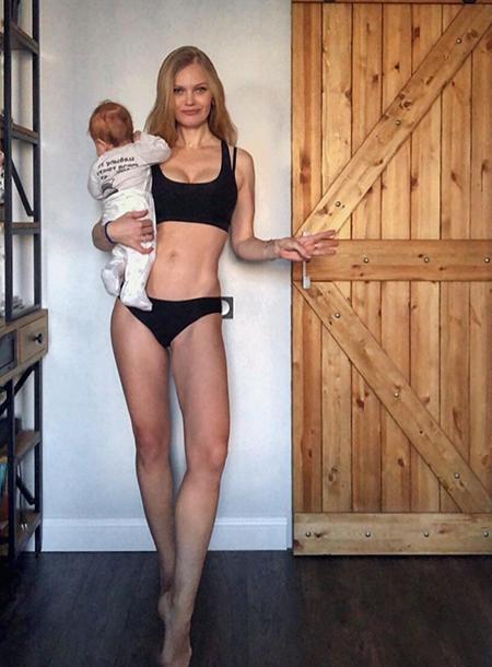 Елена Кулецкая показала впечатляющие результаты похудения после родов