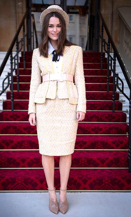 52295 Кира Найтли рассказала, как чуть было не лишилась ордена Британской империи