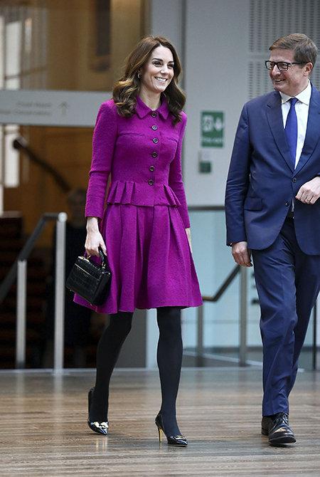 Кейт Миддлтон посетила Королевский оперный театр в Ковент-гардене