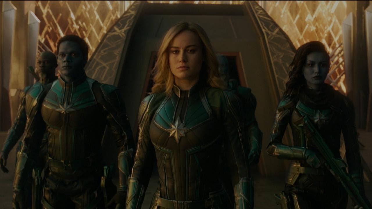 Капитан Марвел – Война – всего лишь начало