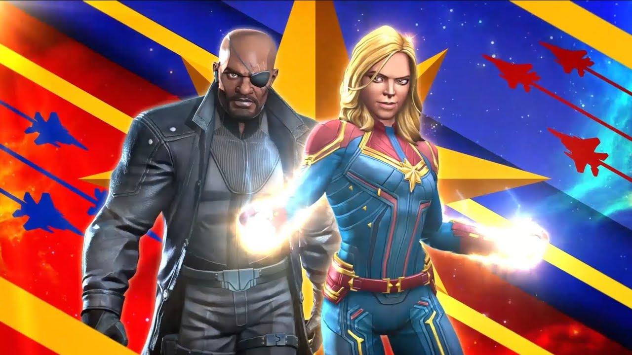 Игра «MARVEL Битва Чемпионов» – Капитан Марвел