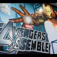 53518 Marvel Мстители - граффити постер