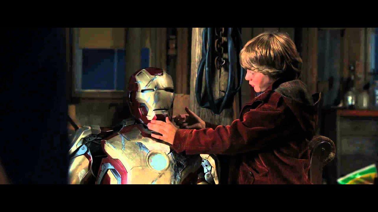 Железный человек 3 – Тони Старк и мальчик.