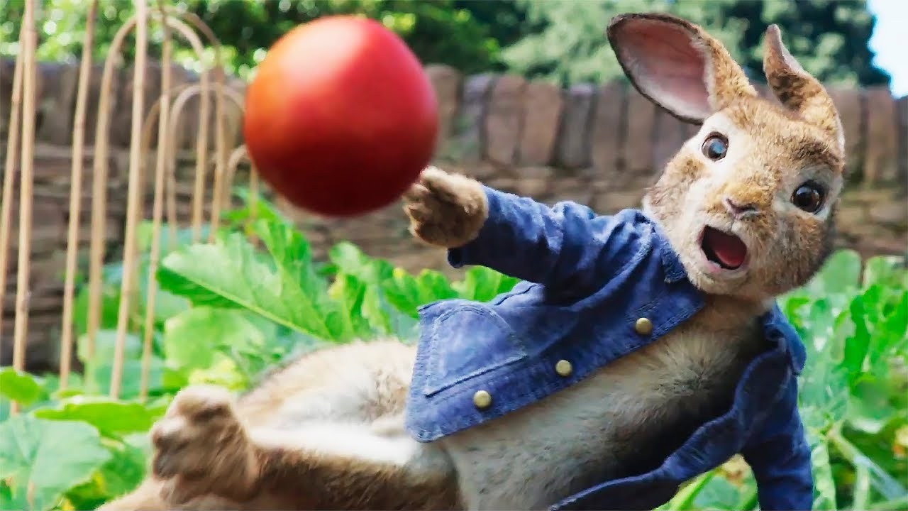 Приключения Кролика Питера — Русский трейлер #2 (2018)