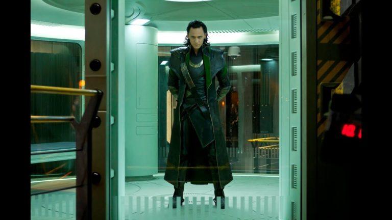 54529 Marvel Мстители -- сцена Локи в заточении