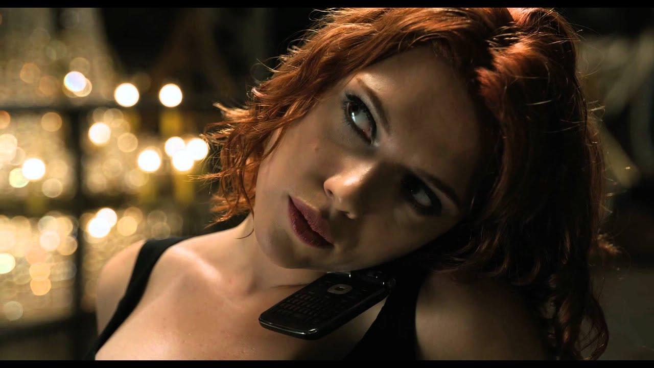 Marvel Мстители – сцена допроса Черной Вдовы