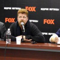 54865 Пресс-конференция Майкла Кудлица из Ходячих мертвецов | Comic Con Russia 2016
