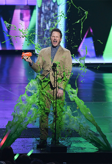 Крис Пратт, Уилл Смит, Адам Сэндлер и другие на премии Kids' Choice Awards