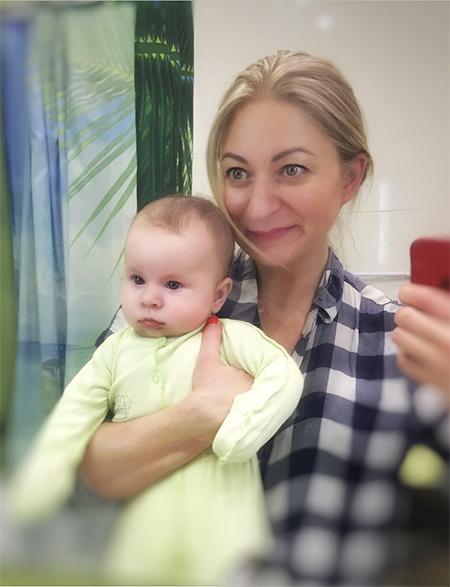 Сестра Леонида Агутина Мария родила дочь через четыре года после смерти сына
